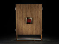 Contemporary sideboard / wood