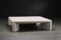 Coffee table / contemporary / hardwood / indoor