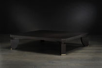 Coffee table / contemporary / wood / indoor