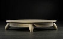 Coffee table / contemporary / oak