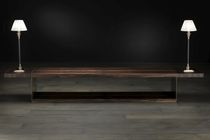Sideboard table / rectangular / contemporary / wood