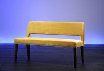 Indoor bench / contemporary / fabric
