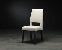 Contemporary chair / fabric