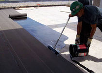 Polyester waterproofing membrane / flat roof / liquid