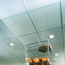 False ceiling gypsum fibre board