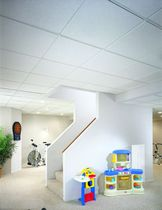 Mineral fiber suspended ceiling / panel / acoustic