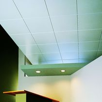 Aluminum suspended ceiling / panel / acoustic