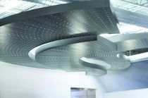 False ceiling acoustic panel / metal / perforated / not specified