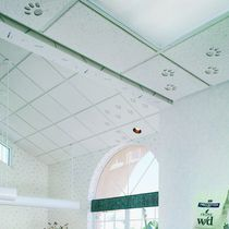 Fiberglass suspended ceiling / panel / acoustic