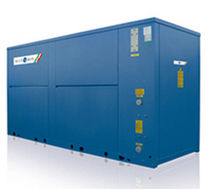 Air/water cooled chiller / floor-mounted