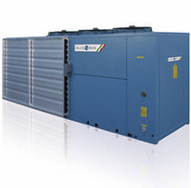 Air/water cooled chiller / floor-mounted / free cooling