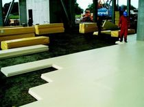 Acoustic insulation / extruded polystyrene / for floors / for underfloor heating