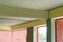 Thermal-acoustic insulation / extruded polystyrene / wall / rigid panel