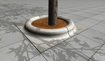 Tree edging / concrete / circular