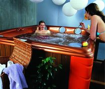 6 seater portable hot-tub SILVESTER USSPA, s.r.o.