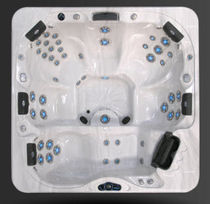 6 seater portable hot-tub DI860L Cal Spas