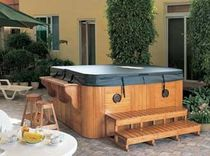 6 seater portable hot-tub 8028 Guangzhou J&amp;J Sanitary Ware