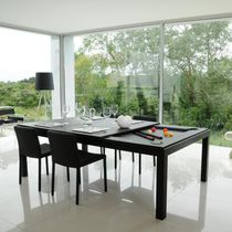 Contemporary Pool Table / Convertible Dining Table
