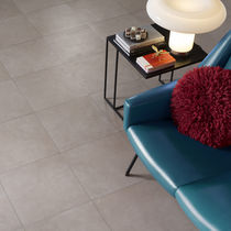 Indoor tile / floor / porcelain stoneware / plain