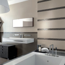 Bathroom tile / wall / ceramic / plain