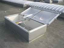 Aluminum smoke vent