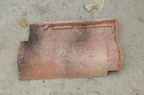 Roman roof tile / interlocking / clay