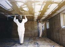 Polystyrene formwork block / for prefabricated floor / insulating