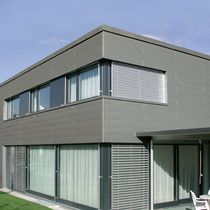 Aluminum cladding / smooth / grooved / colored