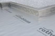 Bituminous waterproofing membrane / for foundations / for floors / self-adhesive
