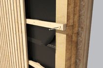 Airtight adhesive strip / acrylic / for facades