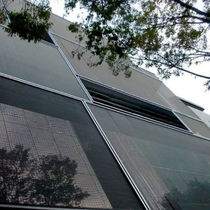 Cladding wire mesh / for interior fittings / solar shading / for ceilings