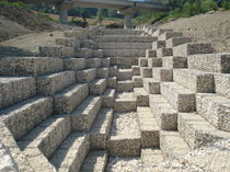 Mattress gabion / protection / for river banks / galvanized steel
