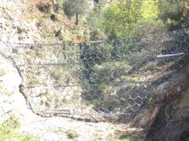 Protective barrier / fixed / metal / soil erosion protection