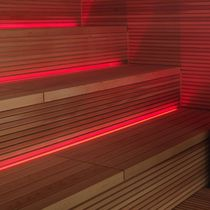 Infrared sauna / commercial / wooden / for indoor use