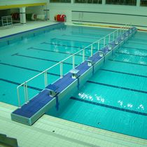 Public swimming pool bulkhead / transversal