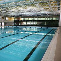 Public competition pool / indoor / indoor / outdoor