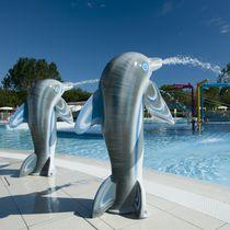 Aquatic park fountain