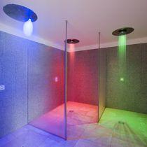 Multi-function shower / metal / for spas / rectangular