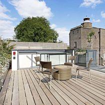 Rooftop access hatch / square / rectangular / aluminum