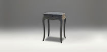 Traditional side table / wooden / with drawer