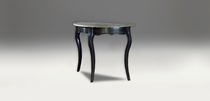 Traditional sideboard table / wooden / marble