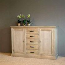 High sideboard / traditional / oak