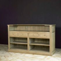 Traditional bar cabinet / wooden