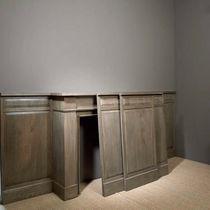 Wood decorative panel / wall-mounted