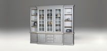 Traditional china cabinet / wooden