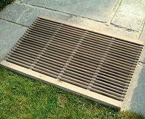 Public area drain grate