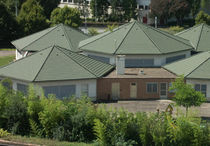 Galvanized steel roofing / sheet steel