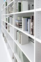 High bookcase / low / contemporary / for offices