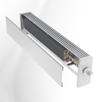 Electric convector / metal / linear / horizontal