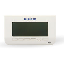 Room thermostat / digital / wall-mounted / for heating